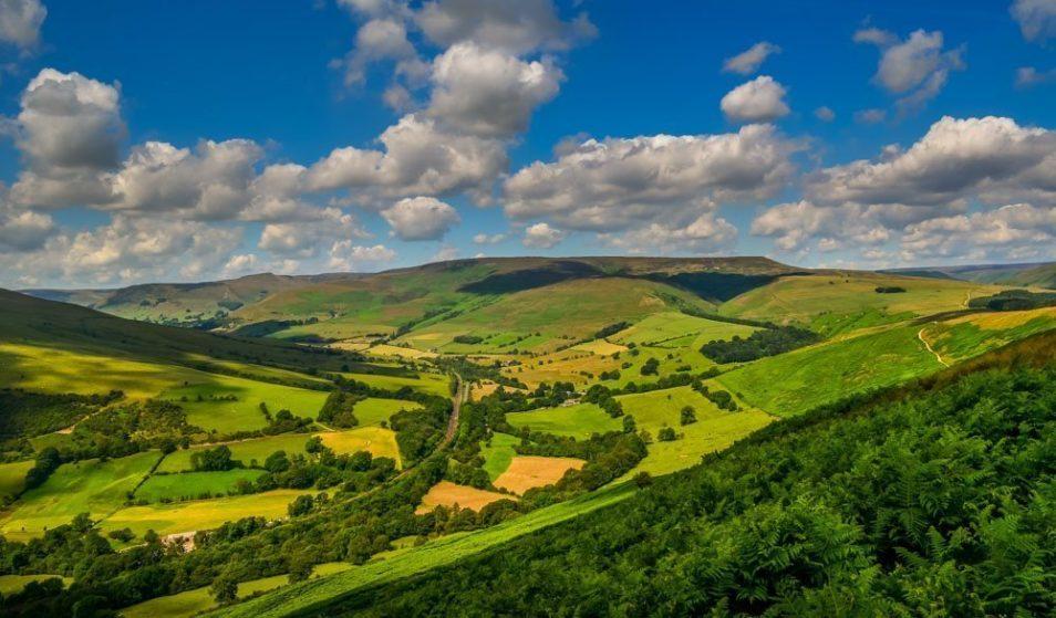 Views across Hope valley