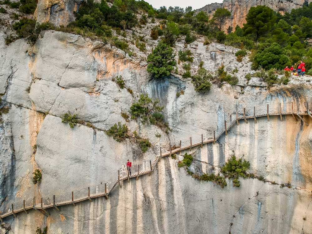 Hiking The Mont-Rebei Gorge, Catalunya