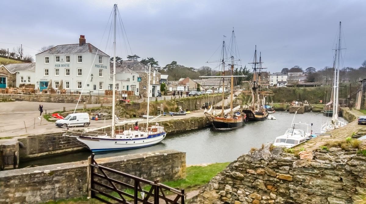 20180406_112623 Cornwall – Walking the Coastal Path to Charlestown