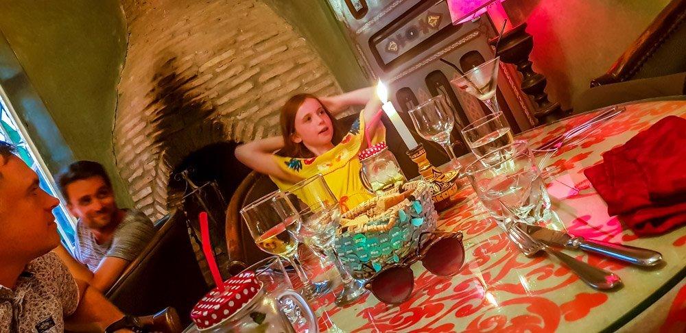 Morocco - Caravane Cafe in Essaouira