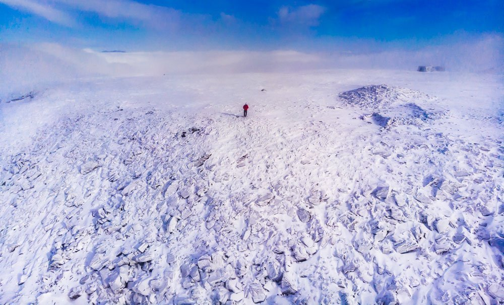 A Winter Climb of Ingleborough, Yorkshire Dales