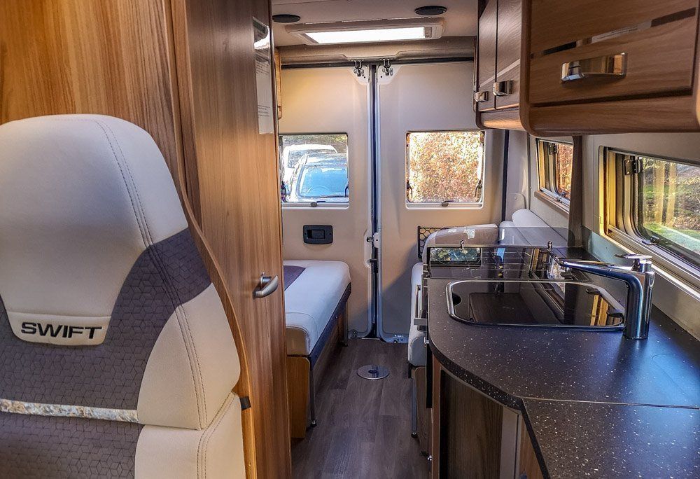 Inside The Home From Home - Swift Select 184 Motorhome