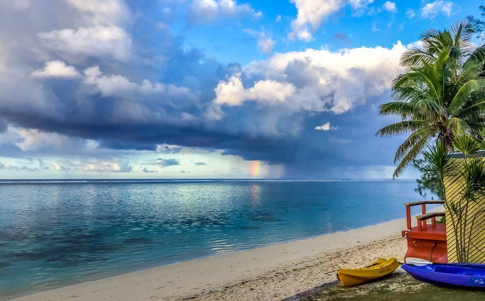 Raro-Beach-kayaks_ Rarotonga, Cook Islands - Pacific Paradise