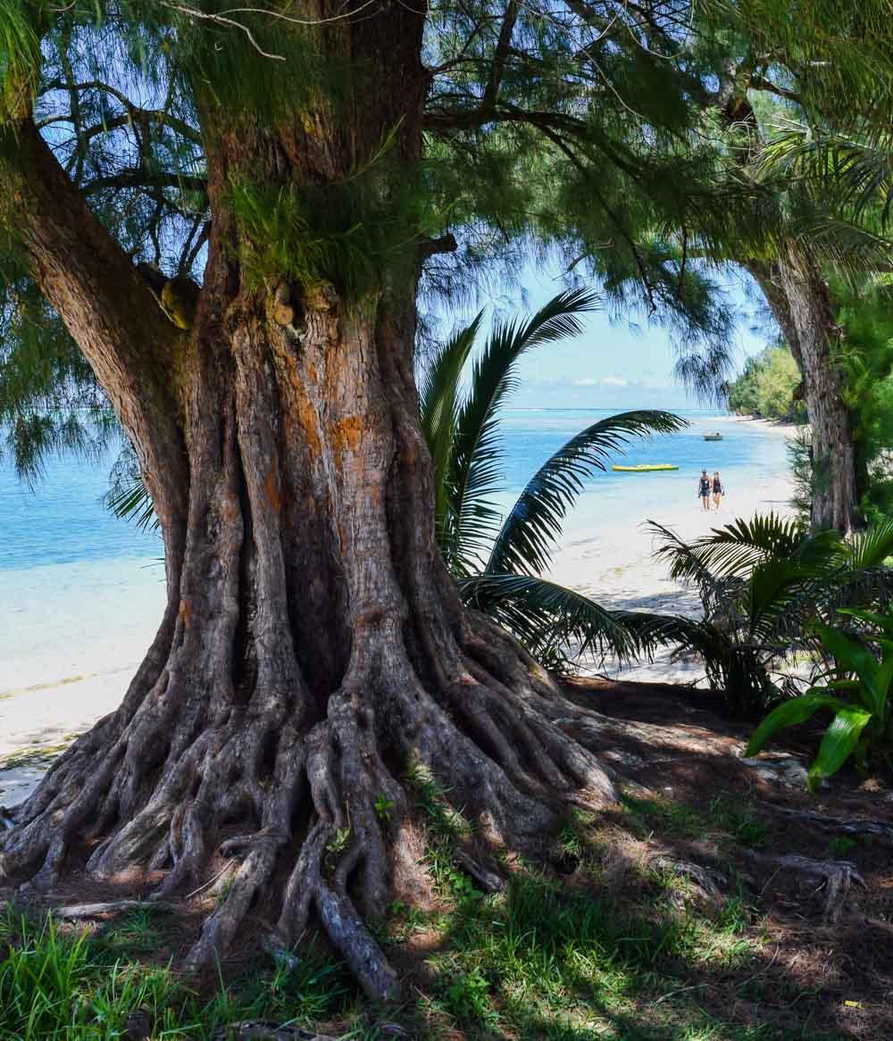 Raro-beach Rarotonga, Cook Islands - Pacific Paradise