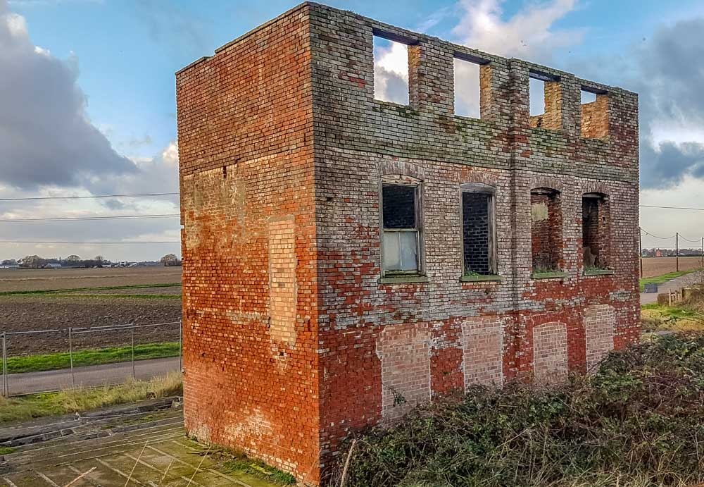 The-Marine-Hotel-Grade-ll-Listed An Evening Walk at RSPB's Freiston Shore Nature Reserve