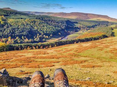 Crook Hill a Relaxed Walk, Stunning Views – Derbyshire