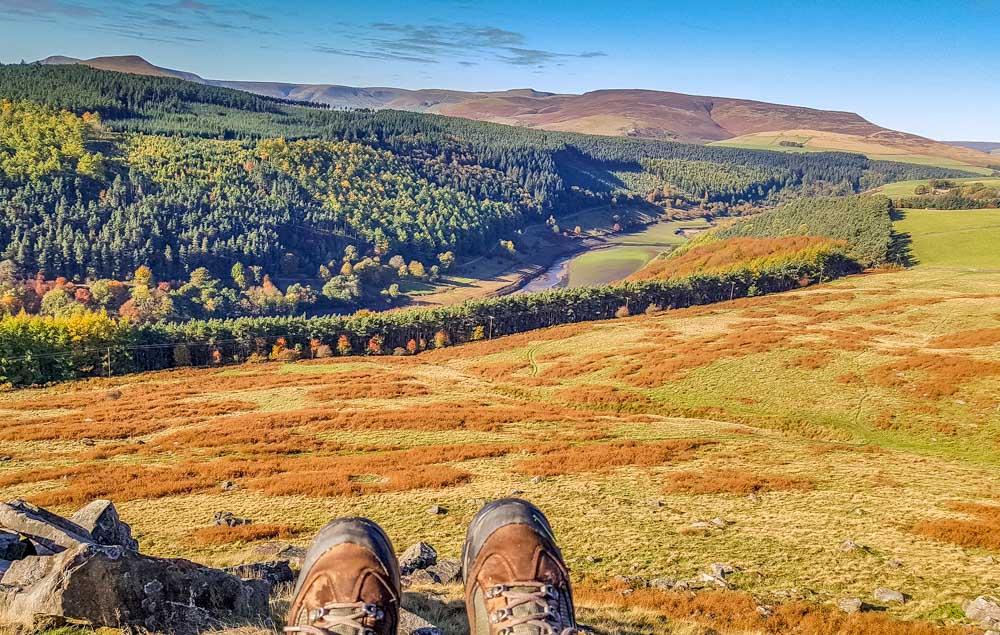 Crook Hill a Relaxed Walk, Stunning Views – Derbyshire 1