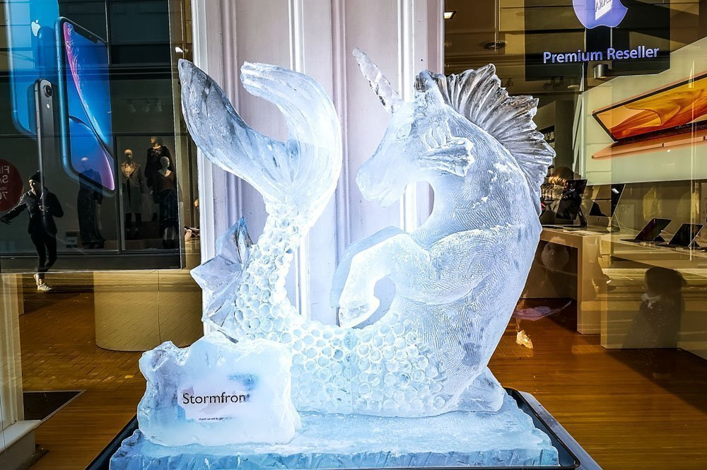 An Ice Trail Walk Around The Centre of York 1