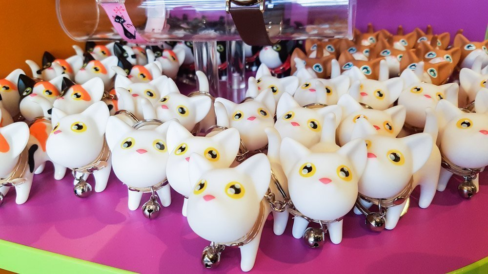 Kitty-keyrings_ Kitty Café - A Feline Experience in Nottingham