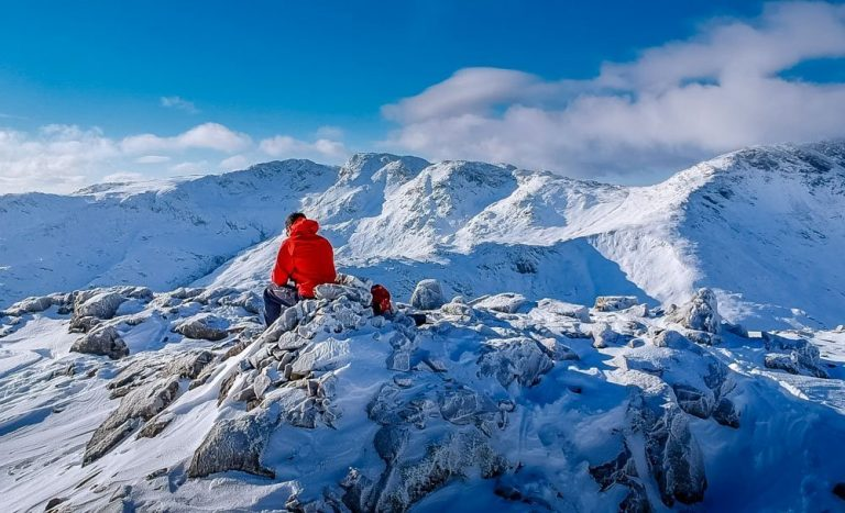 Winter Walking from the Langdale Valley