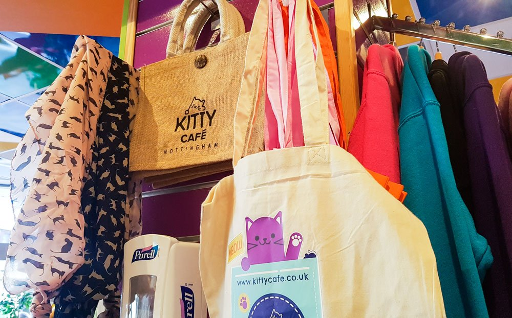 kitty-cafe-merchandise_ Kitty Café - A Feline Experience in Nottingham