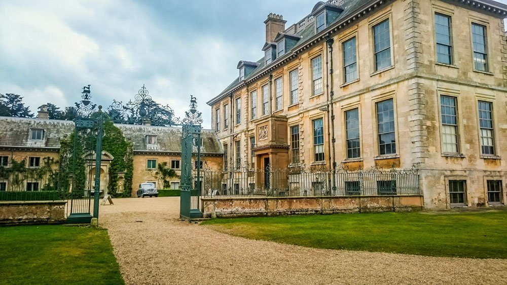 belton house entry