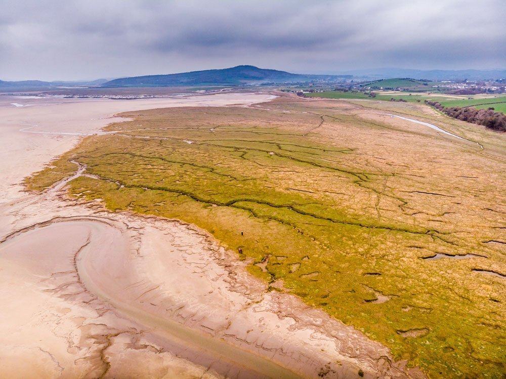 DJI_0162 Morecambe Bay - A Motorhome Stay and Walks
