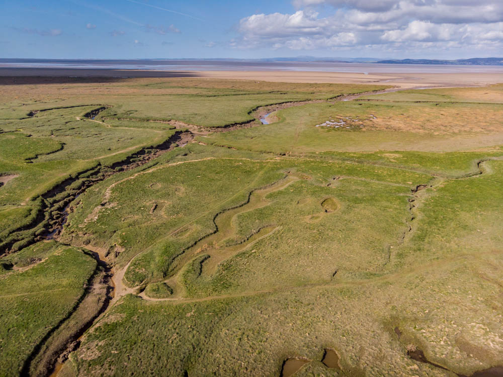 DJI_0207 Morecambe Bay - A Motorhome Stay and Walks
