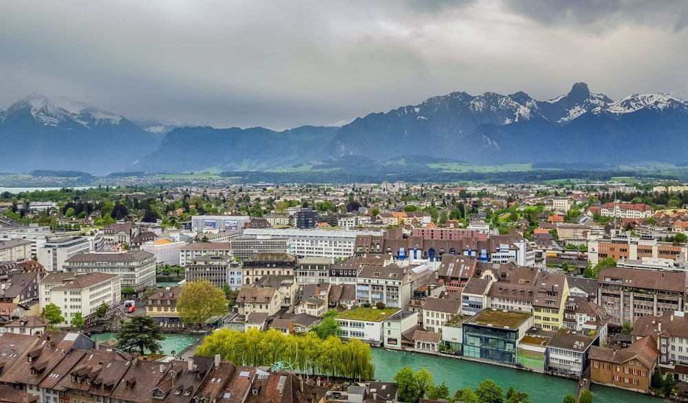 View-from-Thun-Castle Memories Of A Swiss Minibreak To Thun