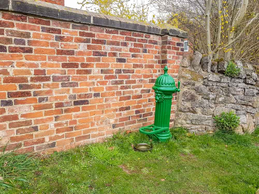 Water-pump-1914_ Historic Ticknall Village, A Country Ramble –  South Derbyshire