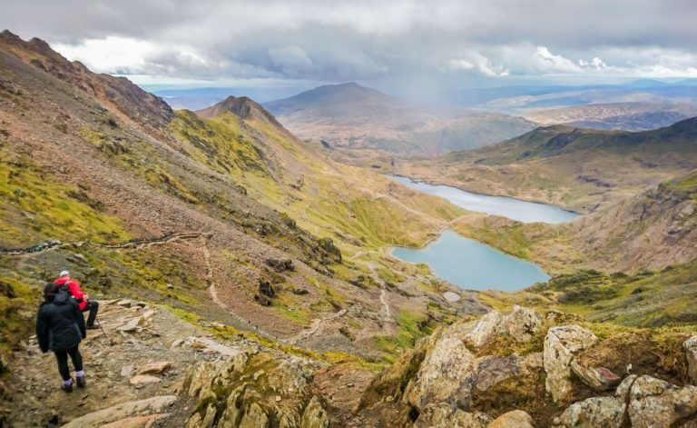 An Adventure Up The Snowdon Ranger Path