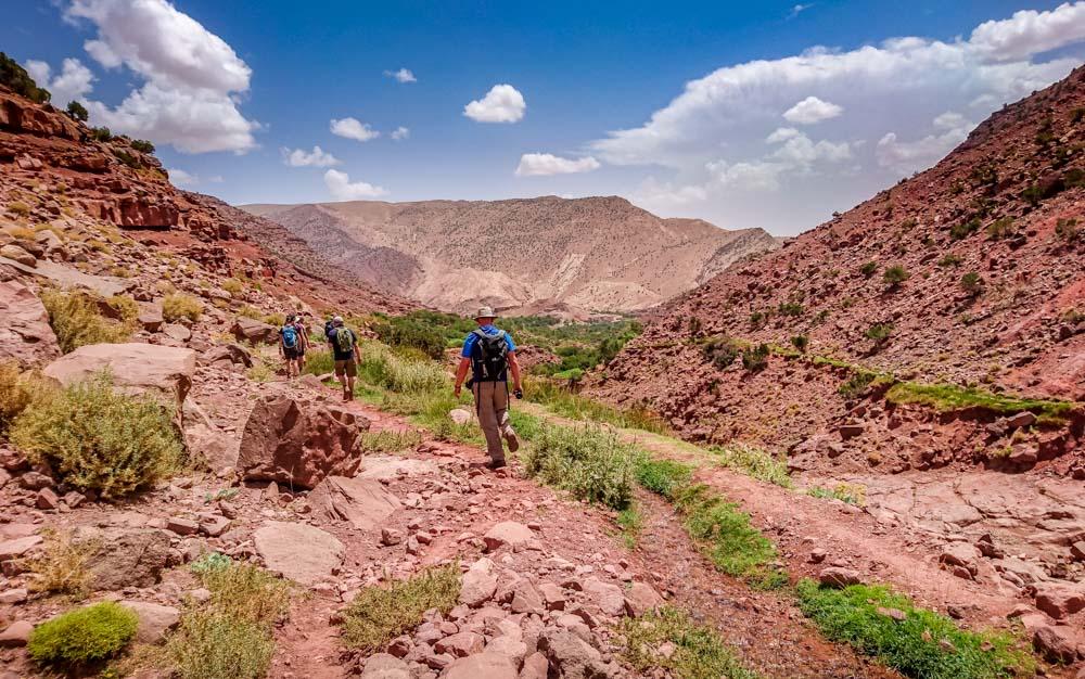 Trekking in the High Atlas, Morocco 1