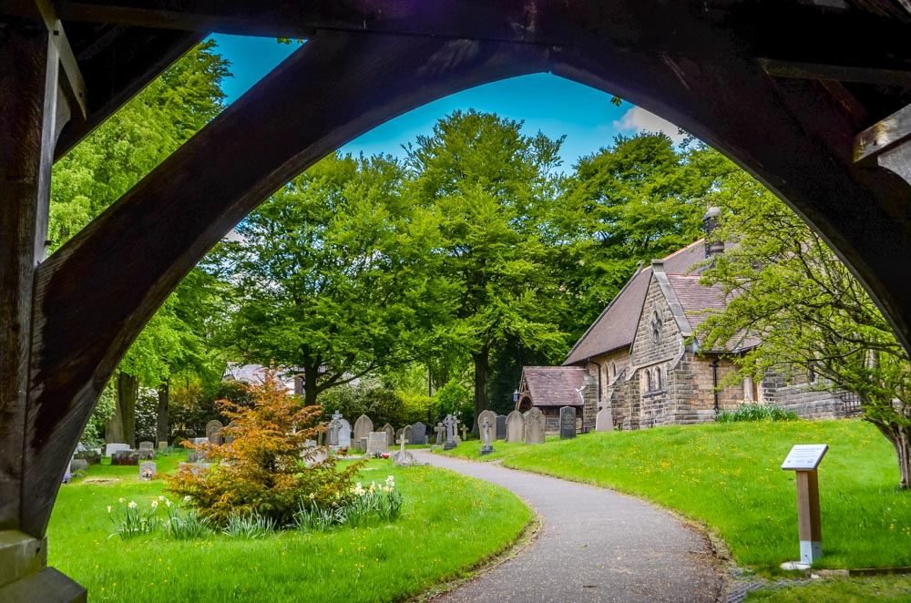 Edale-Village-Church A Family Walk Through Edale, Castleton and Hope Villages