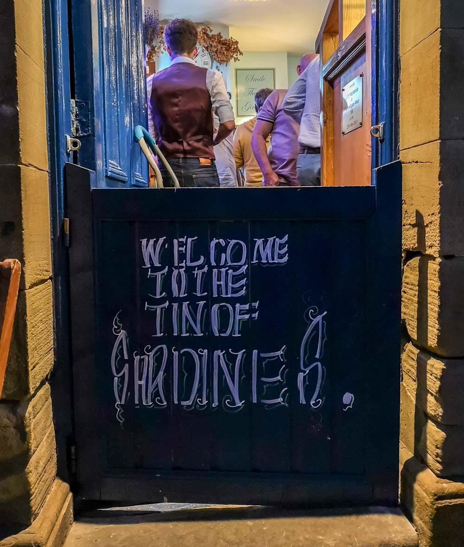 Tin of sardines pub in Durham