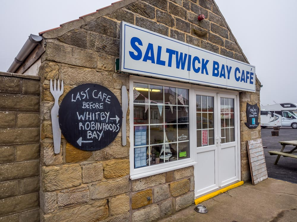 A Walk From Whitby to Saltwick Bay