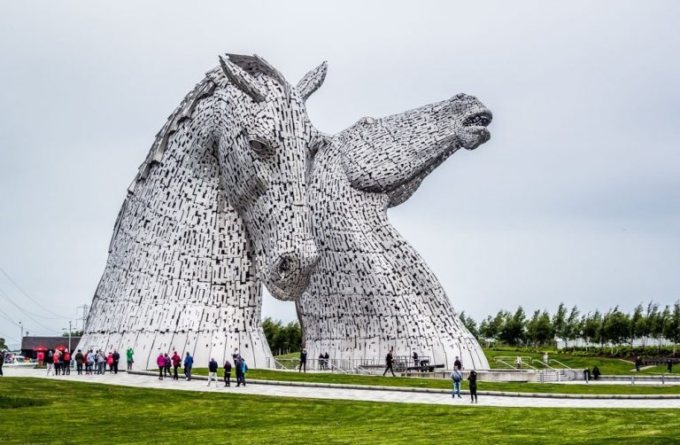 A Visit To The Kelpies, Falkirk