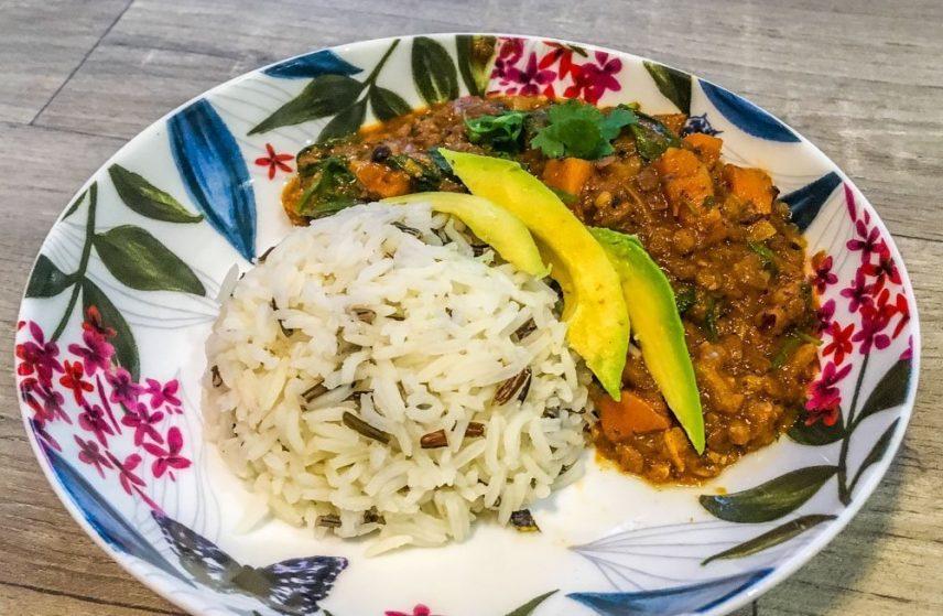 Green Lentil Curry Recipe