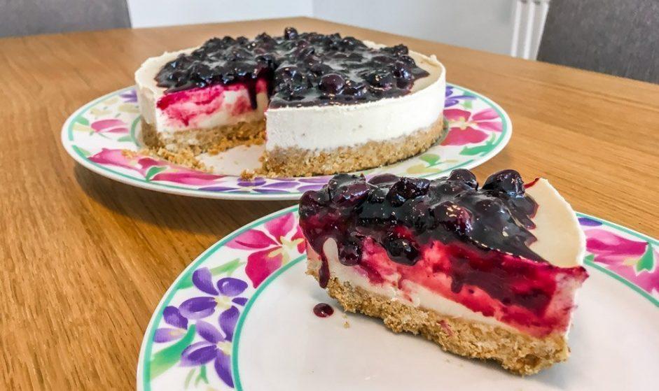 Vegan Classic Blueberry Cheesecake Recipe