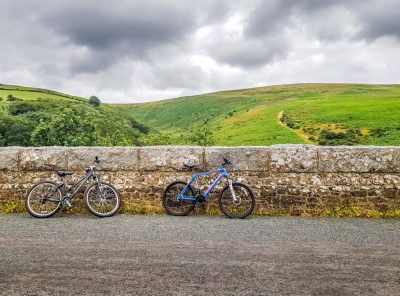 Cycling Off Road On The Granite Way, Devon