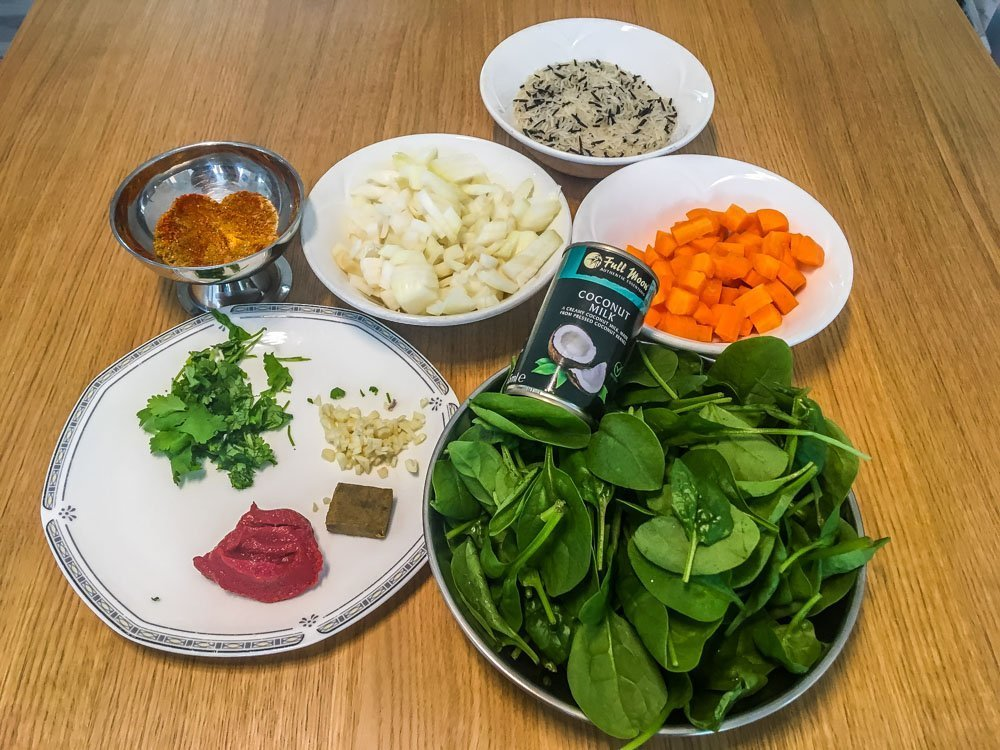 Green Lentil Curry Recipe