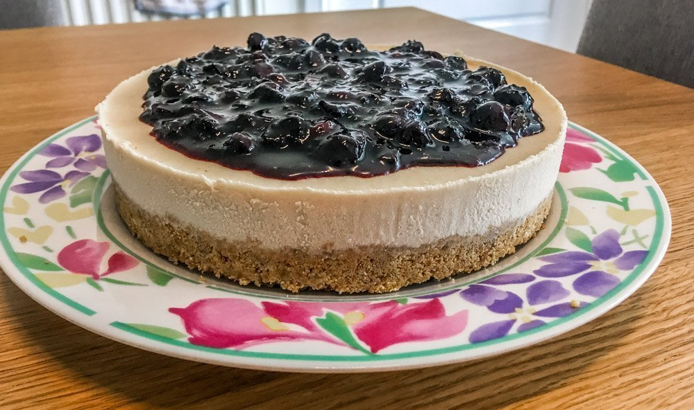 7 Vegan Classic Blueberry Cheesecake Recipe