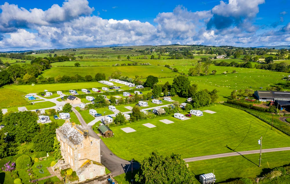 DJI_0060 Doe Park Caravan Site In The Durham Dales