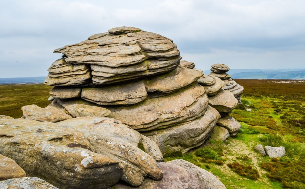 Derwent-Edge-the-Wheel-Stones Walking to the Wheel Stones on Derwent Edge – Peak District