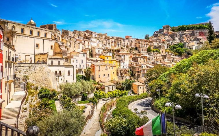 The Beautiful Baroque City of Ragusa Ibla, Sicily