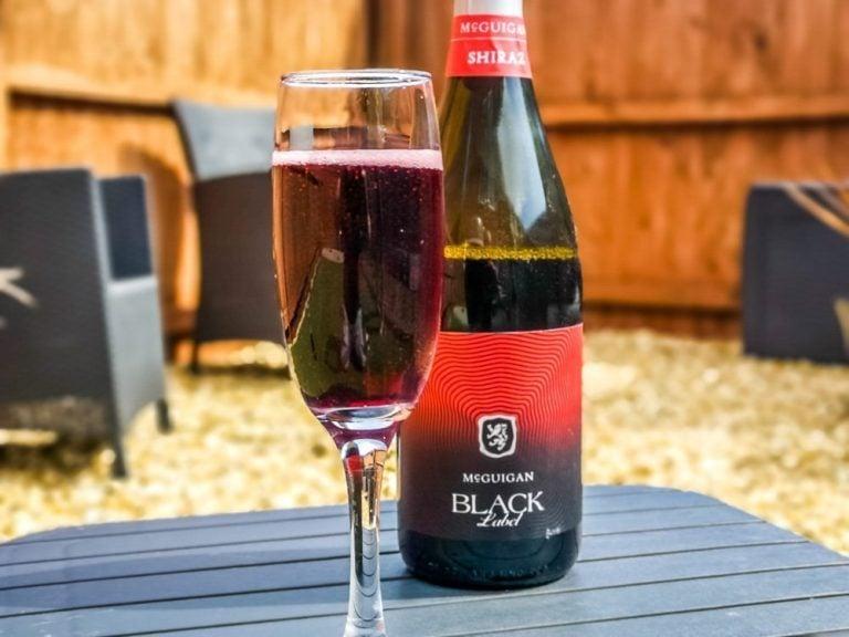 Sparkling Red Wine, McGuigan Black Label Shiraz