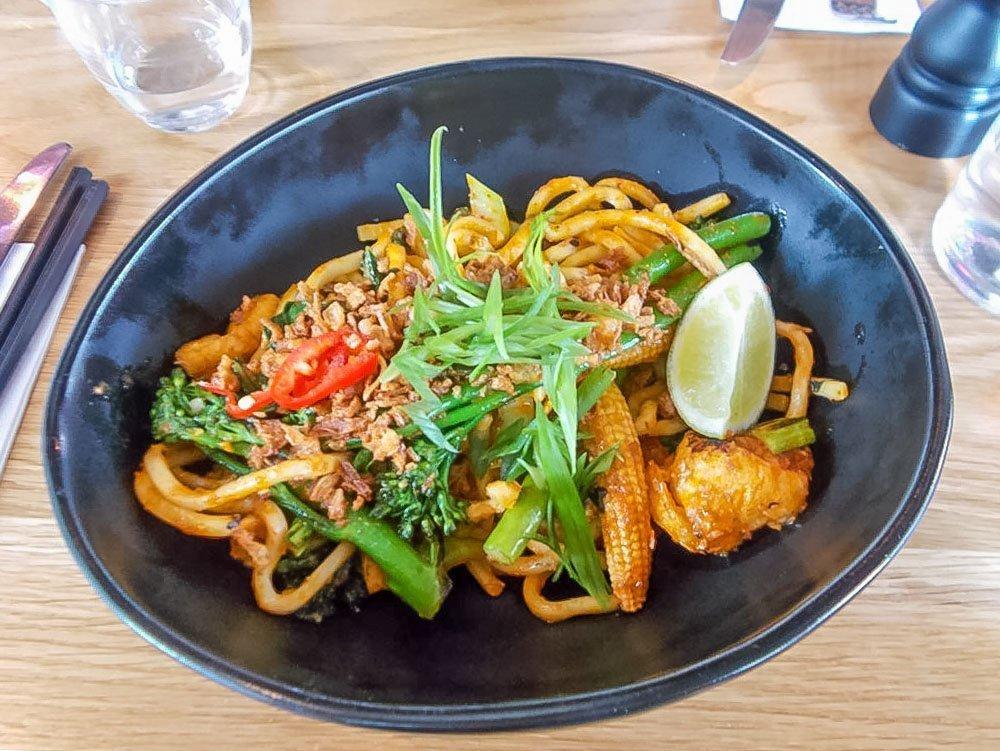 Three Vegan Lunches in London