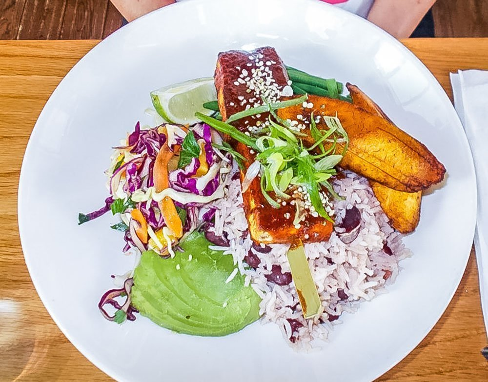 Three Vegan Lunches in London