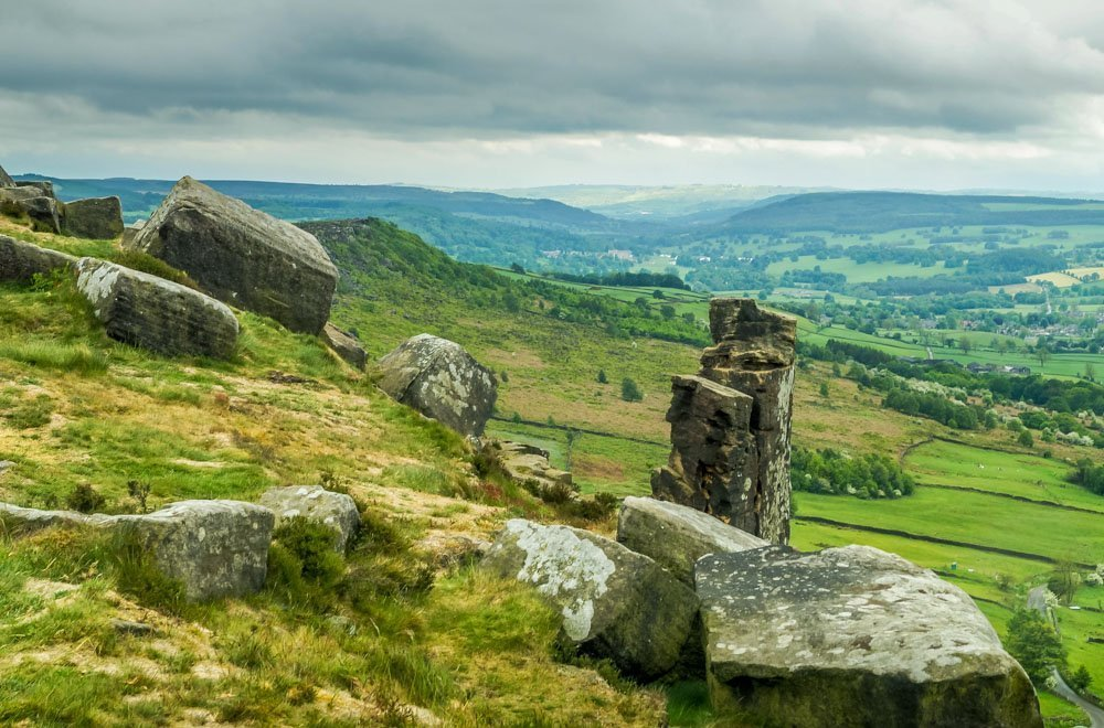 Curbar Edge to Baslow Edge, A Peak District Circular Walk