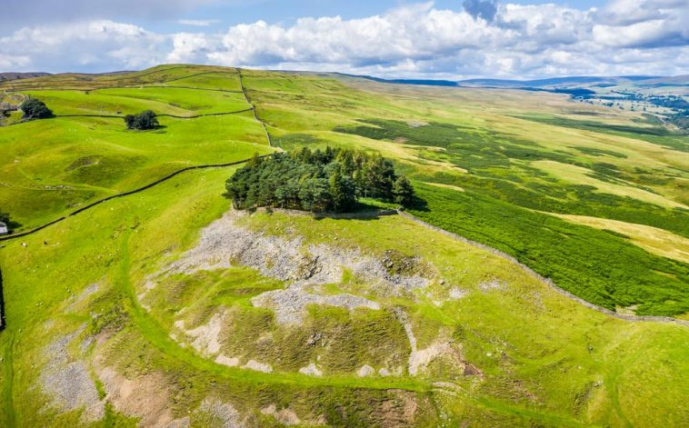 Kirkcarrion - The Mysterious Barrow Above Middleton-in-Teesdale