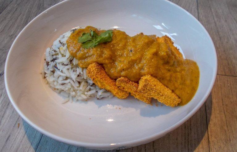 Healthy Vegan Tofu Katsu Curry Recipe
