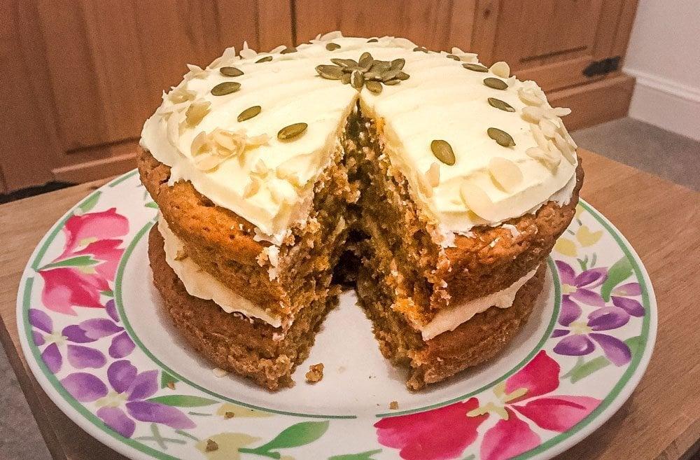Easy Vegan Carrot Cake Recipe