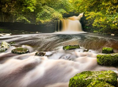Cauldron Falls, West Burton In The Yorkshire Dales
