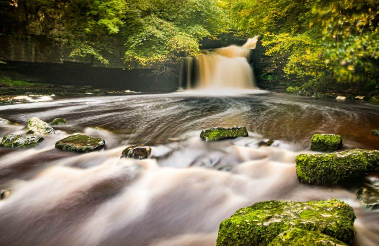 Cauldron Falls, West Burton In The Yorkshire Dales