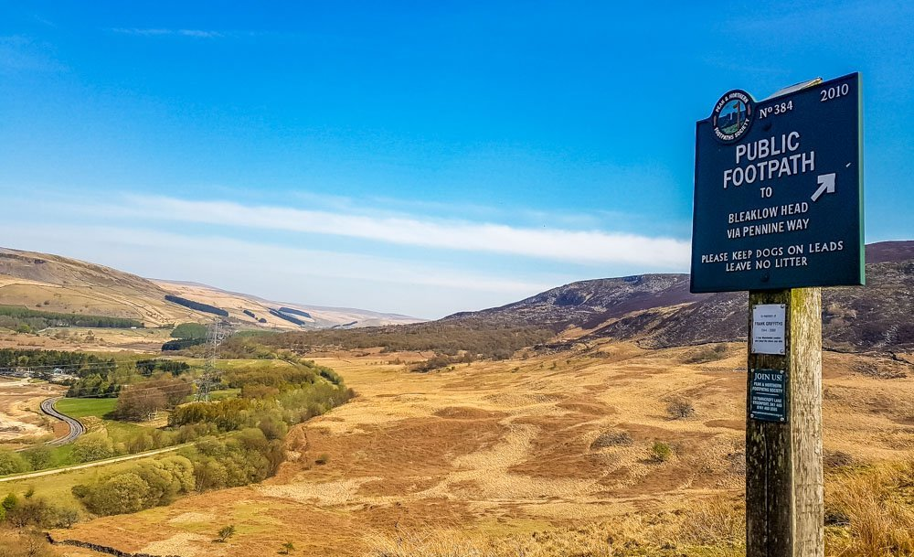 The-path-to-Bleaklow Torside And Woodhead Reservoir Walks – North Derbyshire