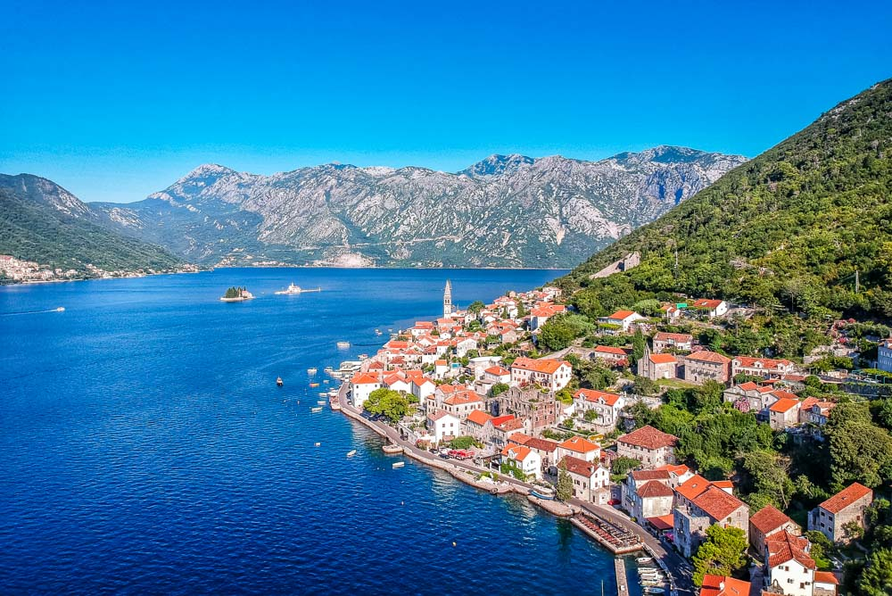 The Tranquil Beauty of Perast and Kotor Bay, Montenegro