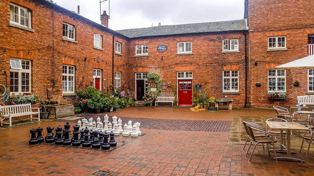 Court-yard-at-the-Ferrers-centre Staunton Harold Estate and the Ferrers Centre – Leicestershire