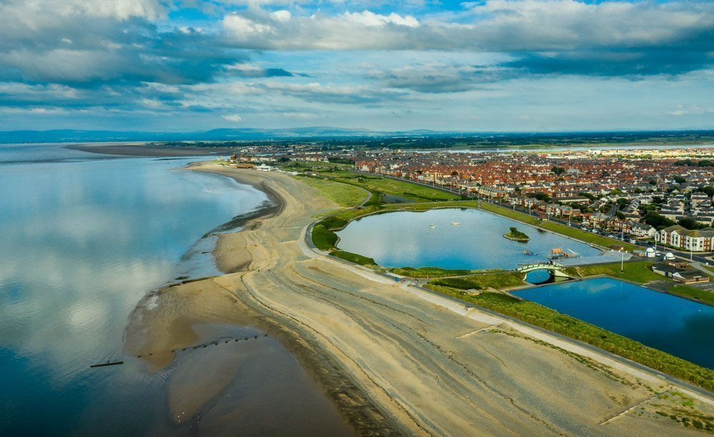 DJI_0389 Rossall Point, Fleetwood - Sunsets, Scenes and Dog Walks