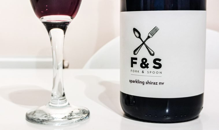 Fork & Spoon Sparkling Shiraz – A Lovely Find