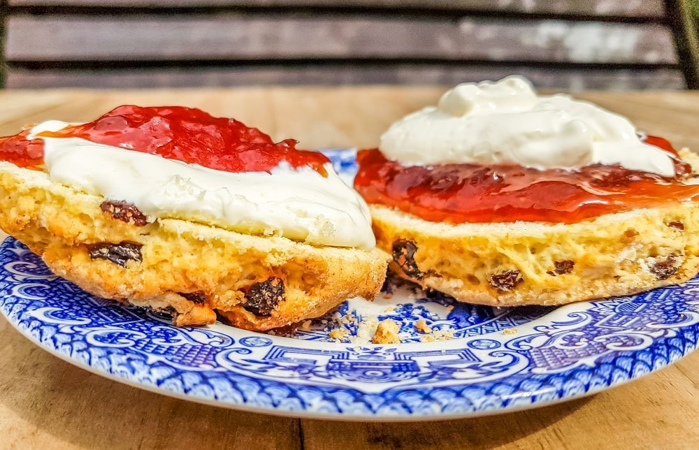 Scones-with-cream-and-jam-1 Simple Recipe for Scones, Sweet or Savoury Varieties