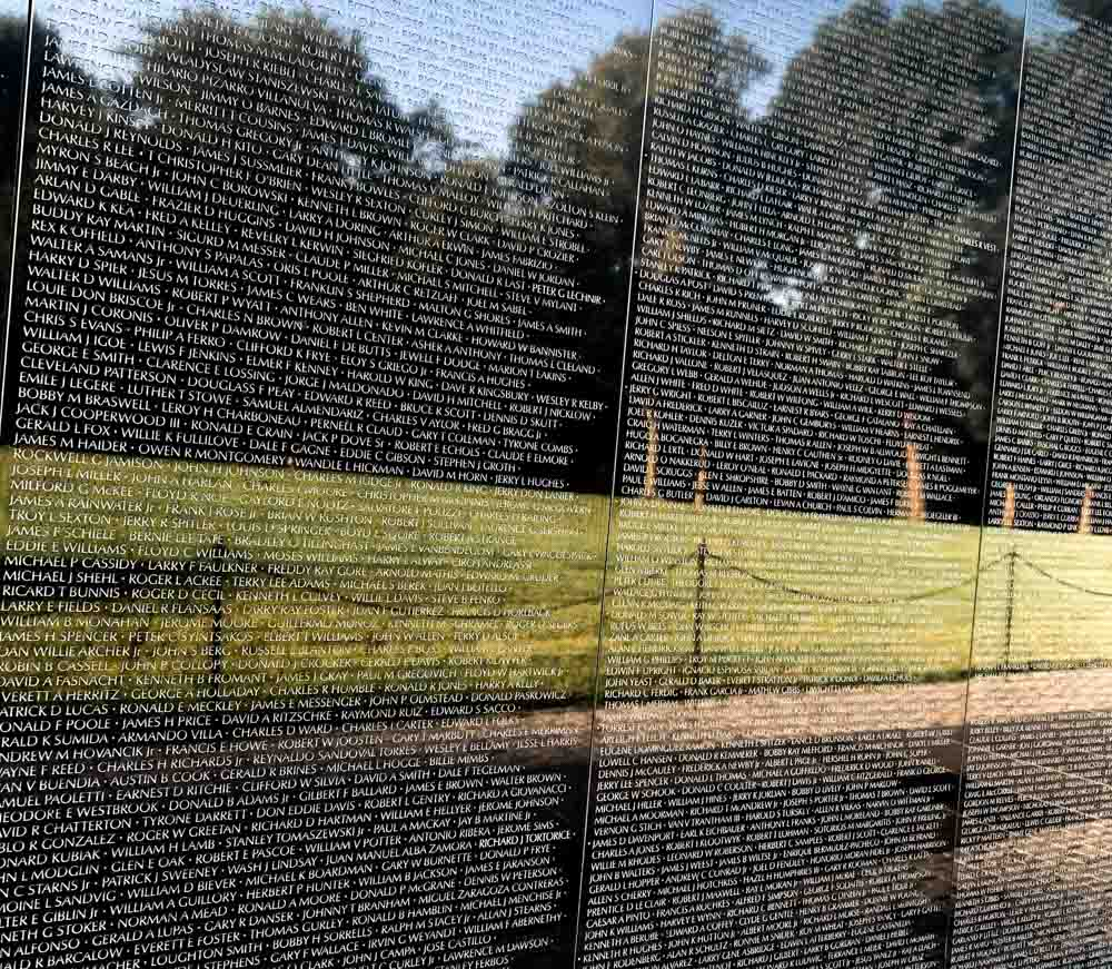 names and reminder of those lost